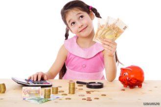 Giáo dục trẻ em về giá trị của tiền bạc