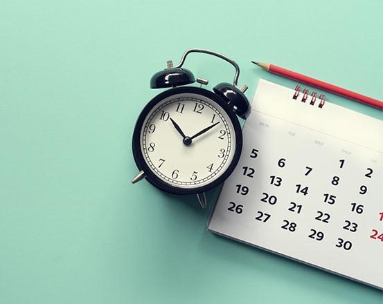 antique clock calendar pencil 760